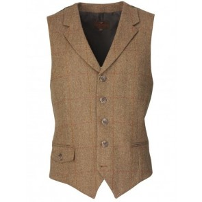 Laksen Balfour Tweed Dress Waistcoat
