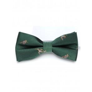 Laksen Woodcock Bow Tie British Racing Green