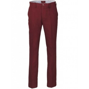 Laksen Broadland Moleskin Trousers Red