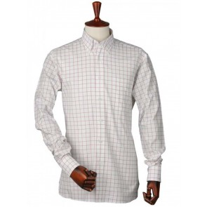 Laksen Red Grenade Greg Oxford Check Shirt