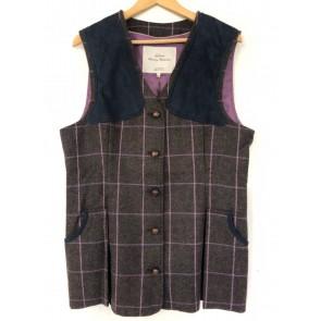 Laksen Queensbridge Ladies Tweed Shooting Vest (Limited Edition)