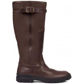 Le Chameau Jameson Unisex Leather Boot Caramel