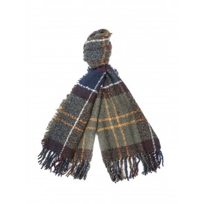 Barbour Classic Tartan Boucle Scarf