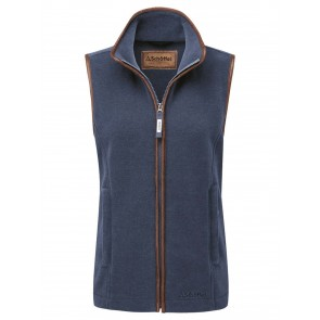 Schoffel Lyndon Fleece Gilet Denim