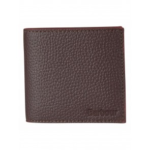 Barbour Grain Leather Brown Wallet