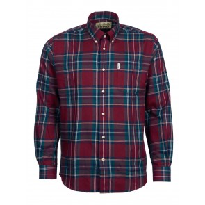 Barbour Thermo-Tech Dalby Check Shirt Red