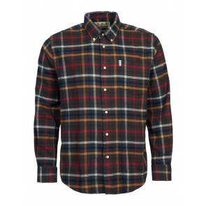 Barbour Hadlo Check Winter Shirt Olive