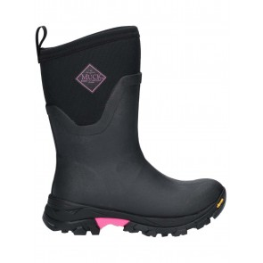 Muck Boots Women's Arctic Ice Mid Black/Pink