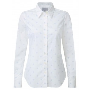 Schoffel Norfolk Shirt Amalfi Bluebell
