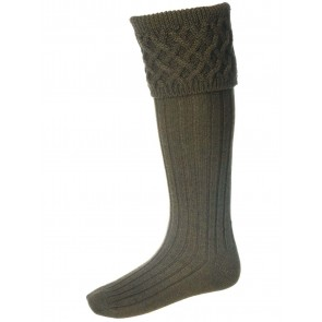 House Of Cheviot Rannoch Sock Bracken