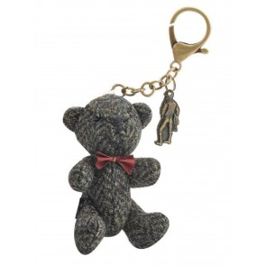 Jack Murphy Billy Bear Tweed Keyring