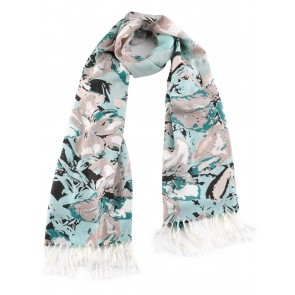 Jack Murphy Powder Room Scarf Powerful Flower