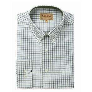 Schoffel Banbury Classic Shirt Blue/Olive Check