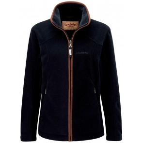 Schoffel Burley Ladies Fleece Navy