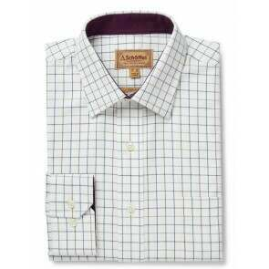 Schoffel Burnham Tattersall Shirt River Bed