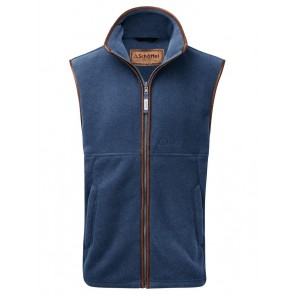 Schoffel Oakham Fleece Gilet Denim