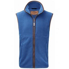 Schoffel Oakham Fleece Gilet Cobalt Blue