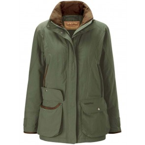 Schoffel Ladies Superlight Ghillie Coat Forest