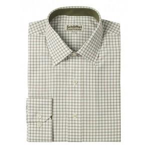 Schoffel Cambridge Shirt Dark Olive