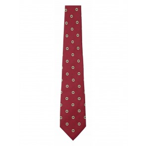 Schoffel Silk Tie Red Cartridges