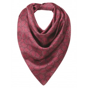 Schoffel Ladies Silk Scarf Raspberry