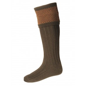 House of Cheviot Tayside Shooting Socks Bracken