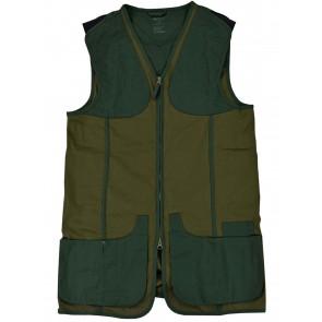 Beretta Urban Cotton Clay Shooting Vest Dark Olive