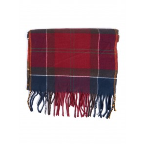 Barbour Gallingale Tartan Scarf Red
