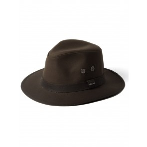 Failsworth Wax Drifter Fedora Olive