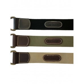 Barbour Leather and Webbing Belt