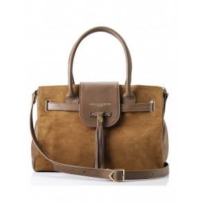 Fairfax and Favor Windsor Handbag Tan