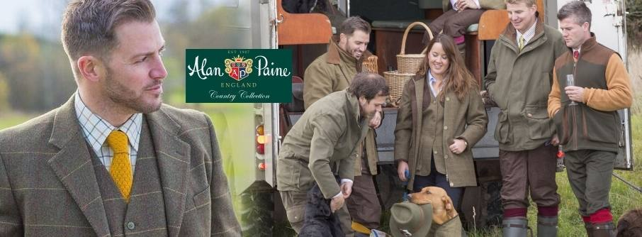 Alan Paine Country and Shooting Clothing