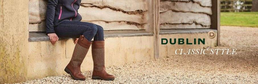 Dublin Waterproof Leather Country Boots