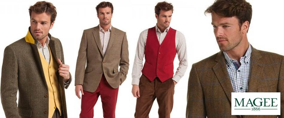 Magee Tweed Jackets and Clothing