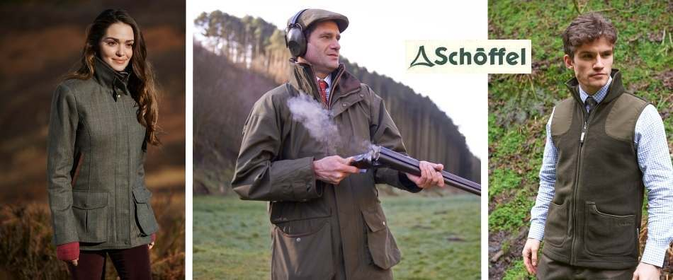 Schoffel Clothing for shooting and country