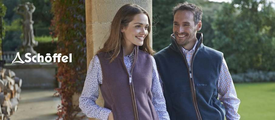 Schoffel Fleece Gilets and Jackets for Men and Women
