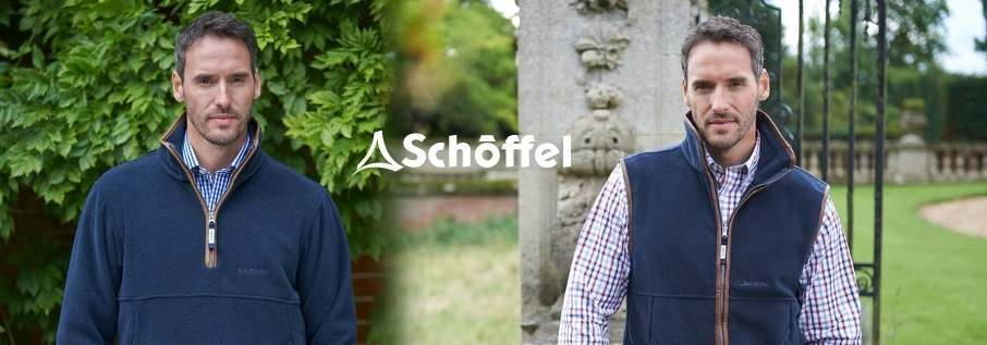 Schoffel Fleece Gilets and Jackets for Men