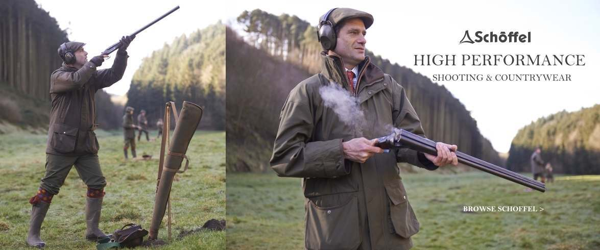 Performance shooting and countrywear from Schoffel