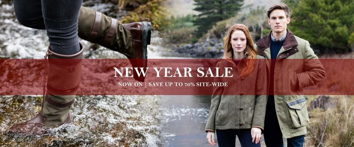 Site-wide countrywear sale now on