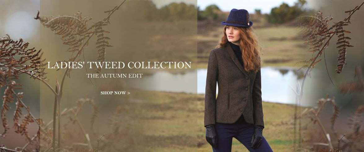 Ladies Tweed Clothing from Out of the City