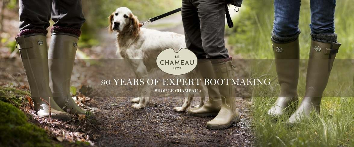 Le Chameau Boots Collection