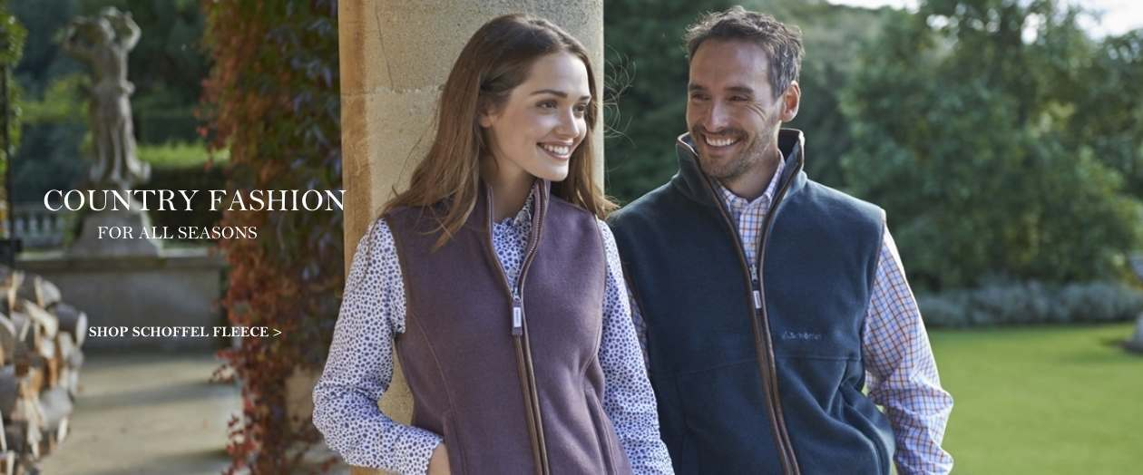 Schoffel fleece - country fashion for all seasons