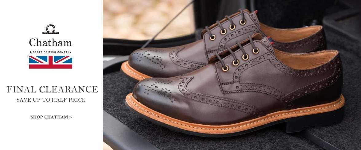 Final reductions on Chatham brogues and footwear