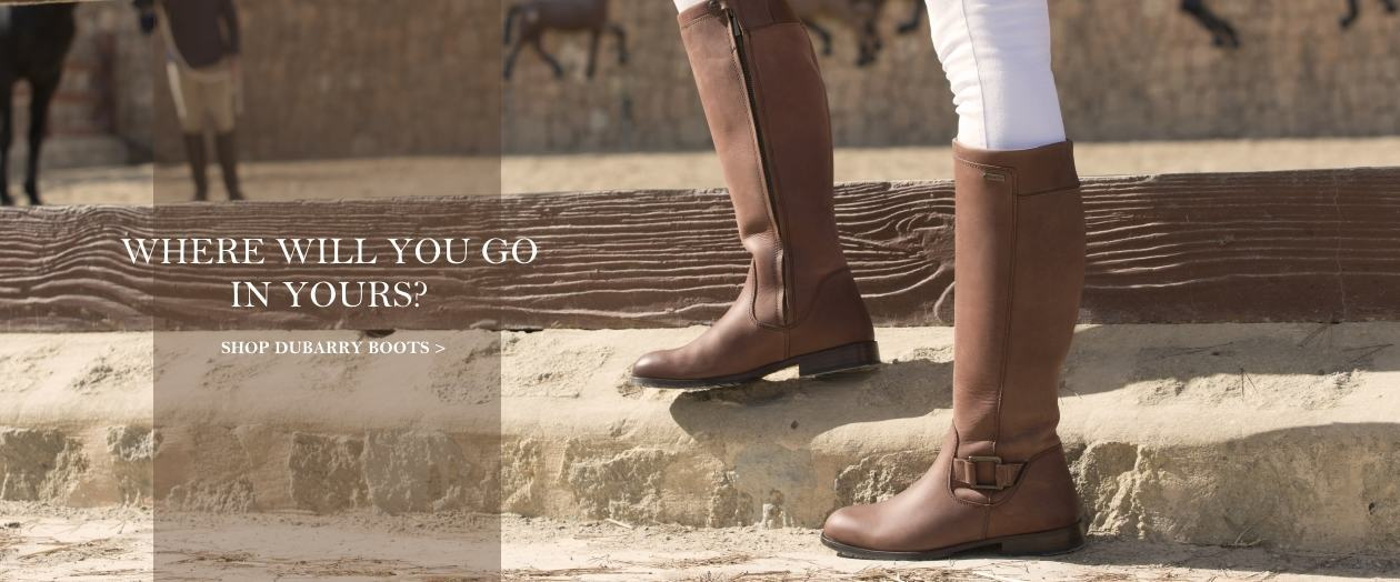 Dubarry Boots - where will you go in yours?