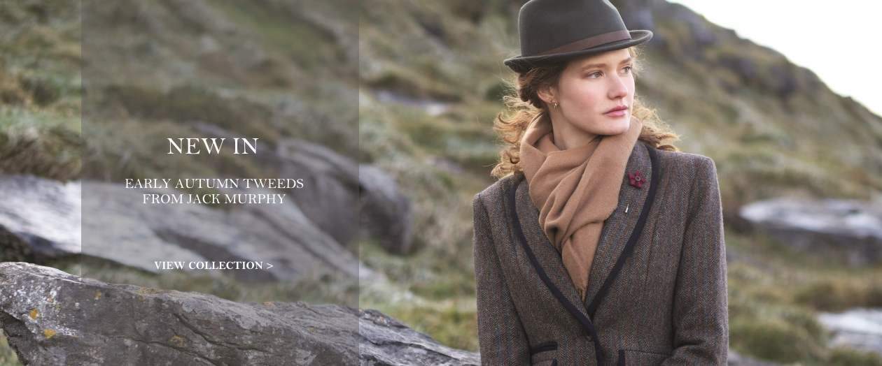New in - Jack Murphy ladies tweeds