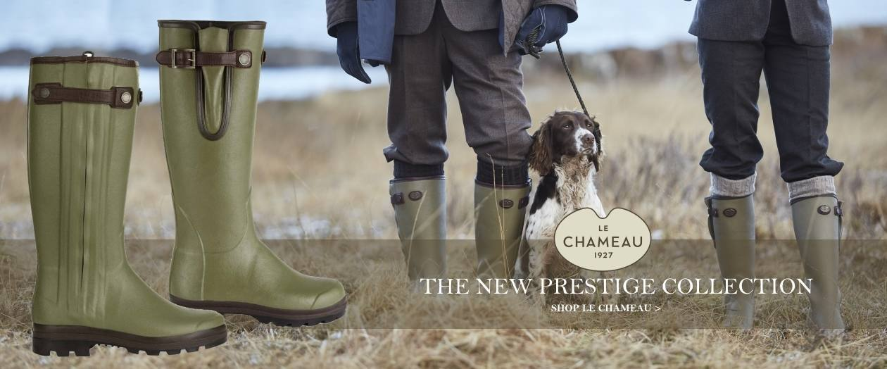 New in - Le Chameau Prestige Collection