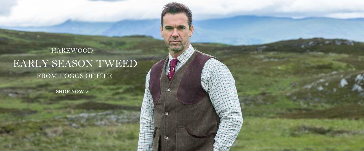 Hoggs of Fife Harewood Tweed
