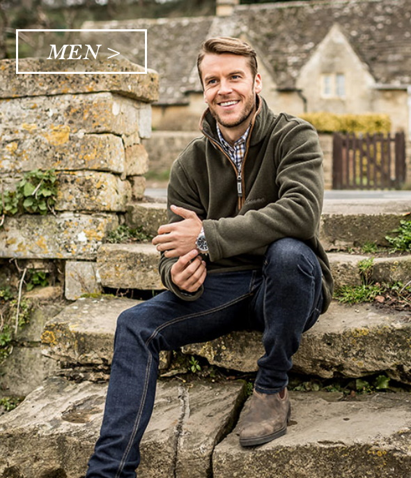 Men's country clothing
