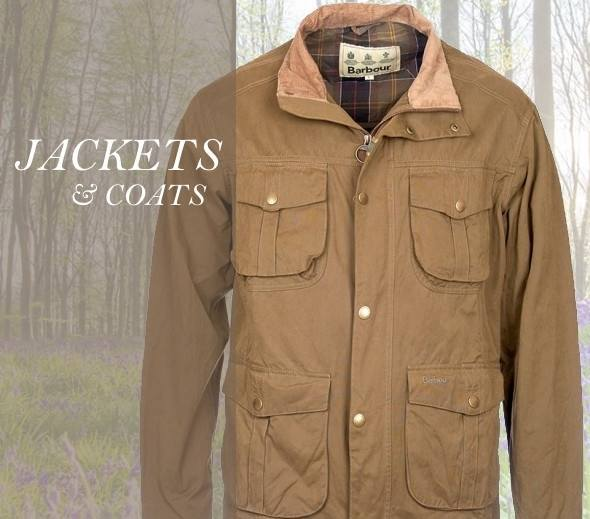 Men's country jackets and coats