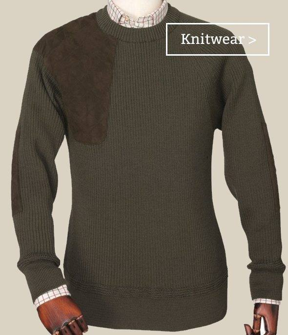 Men's country knitwear